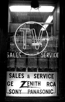 NYC Television Store 1971
