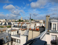 Backyard Paris View
