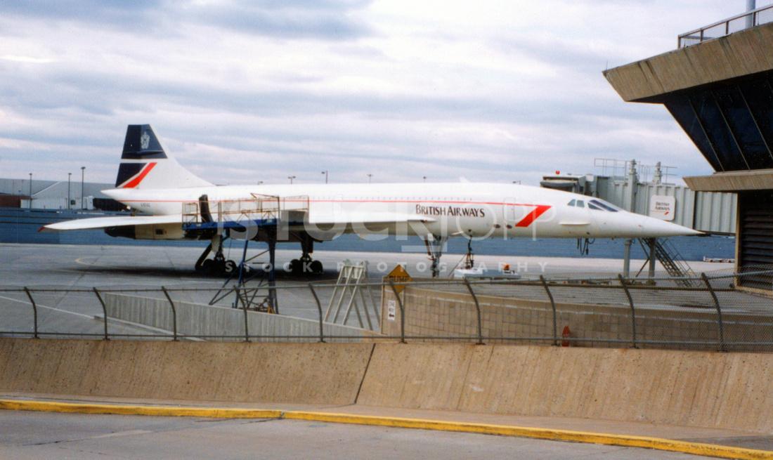 Concorde - NYC Airport ca.1990